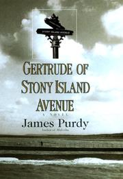 GERTRUDE OF STONY ISLAND AVENUE by James Purdy