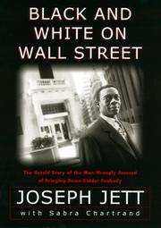 BLACK AND WHITE ON WALL STREET by Joseph Jett