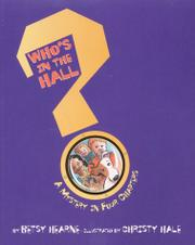 Book Cover for WHO'S IN THE HALL?