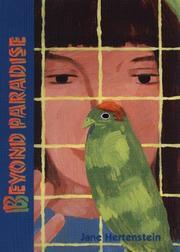 BEYOND PARADISE by Jane Hertenstein