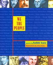 WE THE PEOPLE by Bobbi Katz