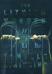THE LITHIUM MURDER by Camille Minichino