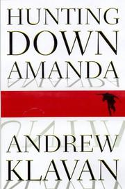 Cover art for HUNTING DOWN AMANDA