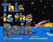 Cover art for THIS IS THE RAIN