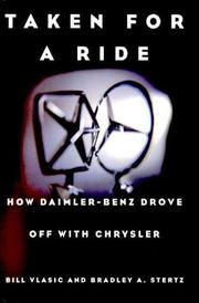 TAKEN FOR A RIDE by Bill Vlasic