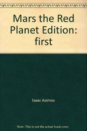 MARS, THE RED PLANET by Isaac Asimov