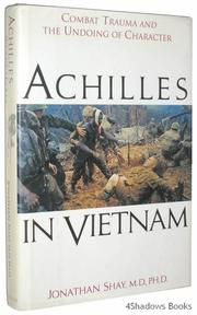 ACHILLES IN VIETNAM by Jonathan Shay