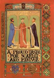A PROUD TASTE FOR SCARLET AND MINIVER by E.L. Konigsburg