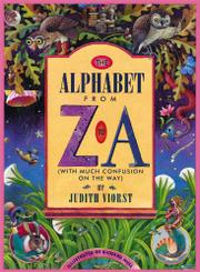 Cover art for THE ALPHABET FROM Z TO A