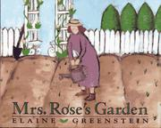 Book Cover for MRS. ROSE'S GARDEN