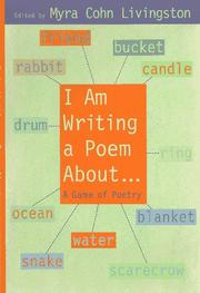 Cover art for I AM WRITING A POEM ABOUT...
