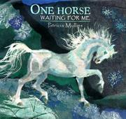 Cover art for ONE HORSE WAITING FOR ME
