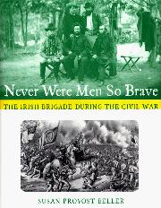 Cover art for NEVER WERE MEN SO BRAVE