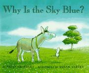 Book Cover for WHY IS THE SKY BLUE?