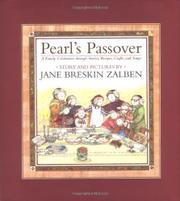 PEARL'S PASSOVER by Jane Breskin Zalben