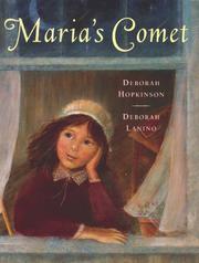 MARIA'S COMET by Deborah Hopkinson