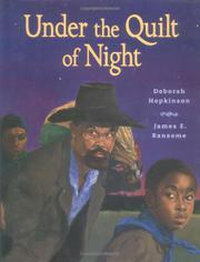 UNDER THE QUILT OF NIGHT by Deborah Hopkinson