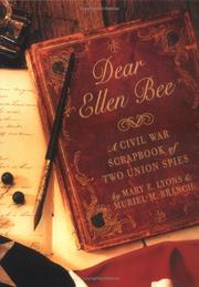 DEAR ELLEN BEE by Mary E. Lyons