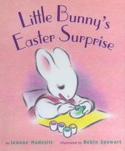 Book Cover for LITTLE BUNNY'S EASTER SURPRISE