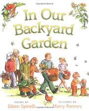 Cover art for IN OUR BACKYARD GARDEN