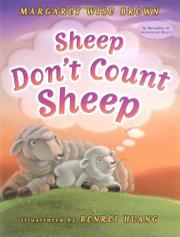 SHEEP DON'T COUNT SHEEP by Margaret Wise Brown
