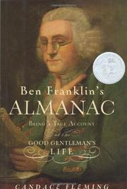 Book Cover for BEN FRANKLIN'S ALMANAC
