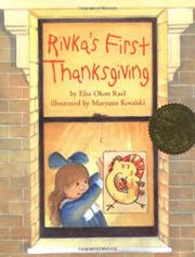RIVKA'S FIRST THANKSGIVING by Elsa Okon Rael