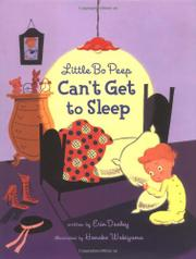 LITTLE BO PEEP CAN'T GET TO SLEEP by Erin Dealey