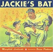 JACKIE'S BAT by Marybeth Lorbiecki