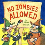 NO ZOMBIES ALLOWED by Matt Novak