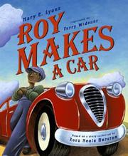 ROY MAKES A CAR by Mary E. Lyons