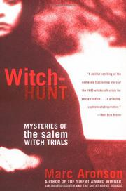 Cover art for WITCH-HUNT