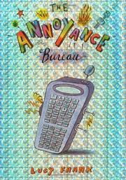 THE ANNOYANCE BUREAU by Lucy Frank