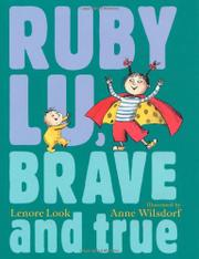 Book Cover for RUBY LU, BRAVE AND TRUE