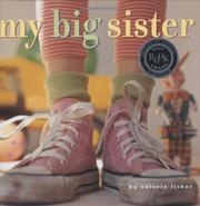 MY BIG SISTER by Valorie Fisher