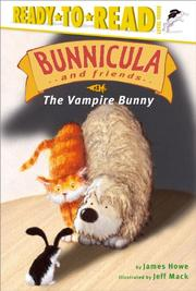 BUNNICULA AND FRIENDS by James Howe