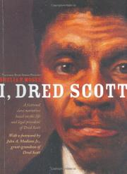 I, DRED SCOTT by Shelia P. Moses