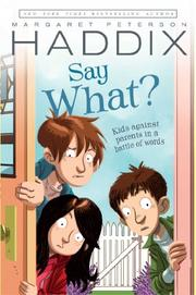 Cover art for SAY WHAT?