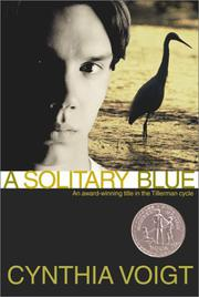 Cover art for A SOLITARY BLUE