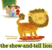 Cover art for THE SHOW-AND-TELL LION