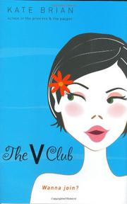 THE V CLUB by Kate Brian