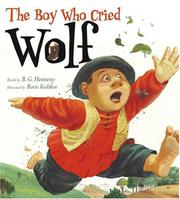Book Cover for THE BOY WHO CRIED WOLF
