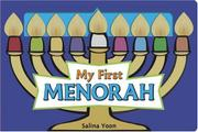 MY FIRST MENORAH by Salina Yoon