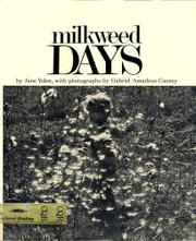 MILKWEED DAYS by Gabriel A. Cooney