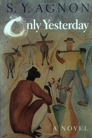 Book Cover for ONLY YESTERDAY
