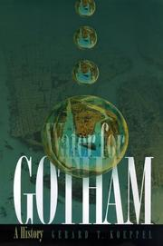 WATER FOR GOTHAM by Gerard T. Koeppel