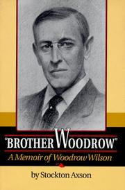 'BROTHER WOODROW' by Stockton Axson