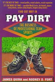 PAY DIRT by James Quirk