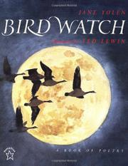 BIRD WATCH: A Book of Poetry by Jane Yolen