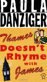 THAMES DOESN'T RHYME WITH JAMES by Paula Danziger